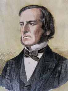 A portrait of George Boole
