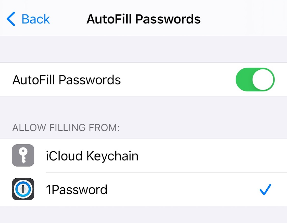 Use 1Password to fill and save on your iPhone and iPad
