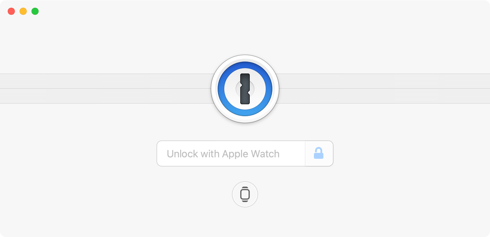 Unlock 1Password for Mac using your Apple Watch