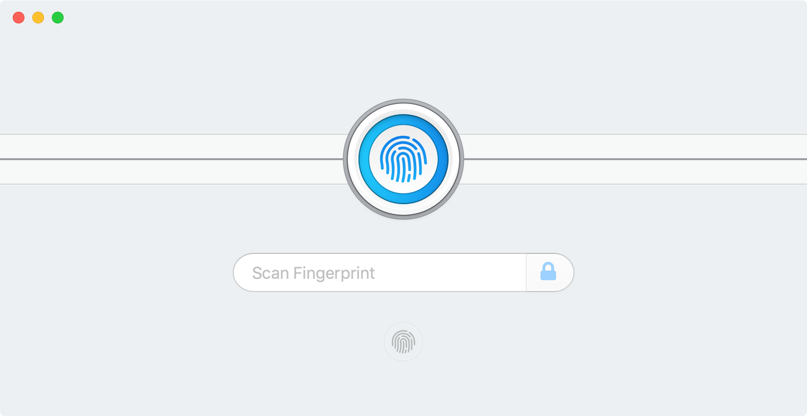 Touch ID in 1Password for Mac