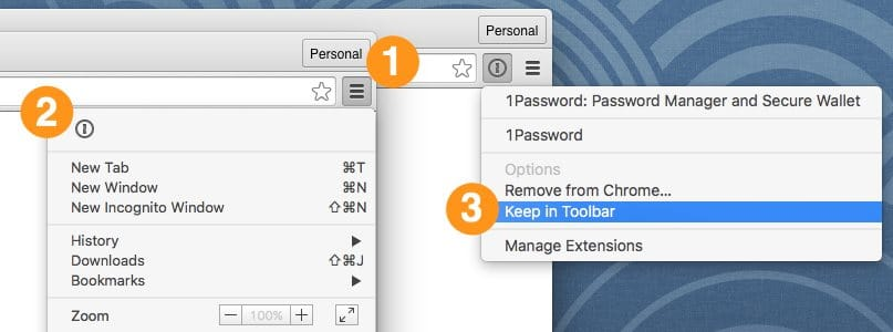 enable extensions chrome mac
