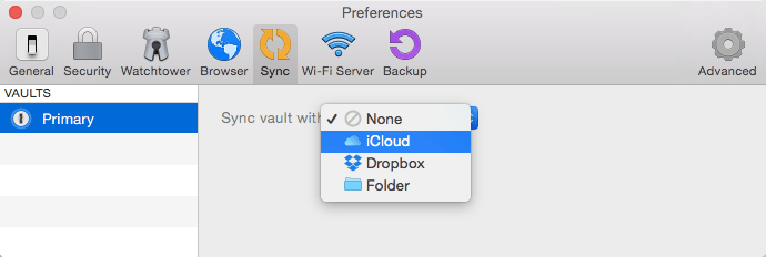 1password sync between mac and iphone